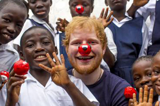Let's wear a Red Nose to help save Child Welfare South Africa