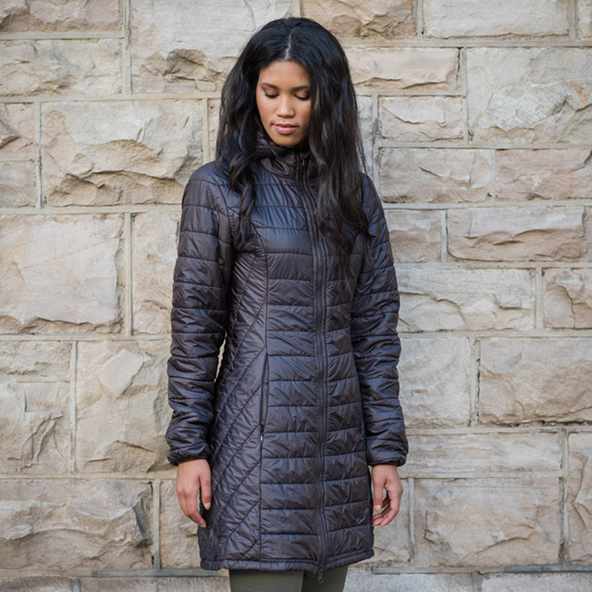 Afromontane long-length puffer jacket