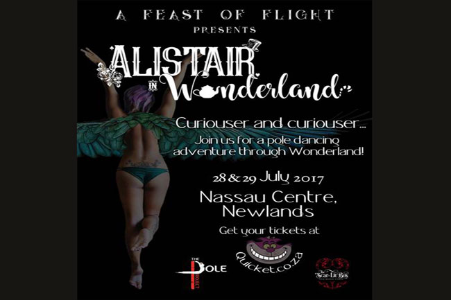 A Feast of Flight presents 'Alistair in Wonderland'