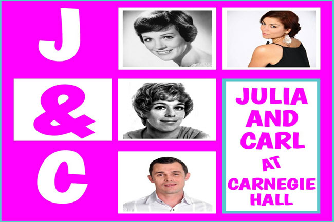 'Julia and Carl at Carnegie Hall' at Alexander Upstairs Theatre