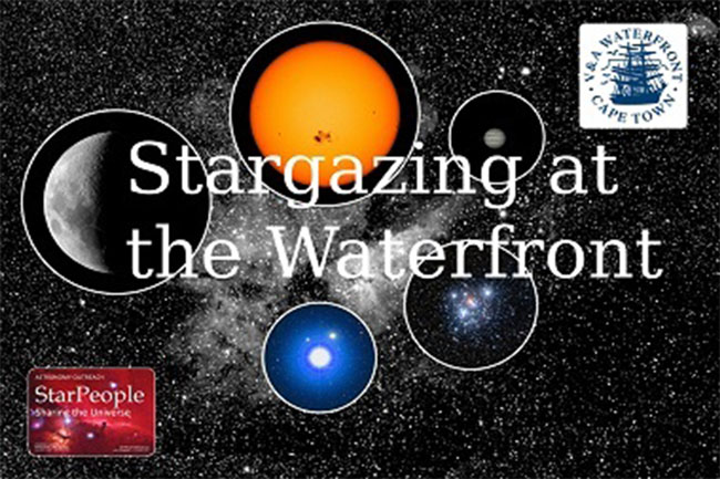 Stargazing at the V&A Waterfront
