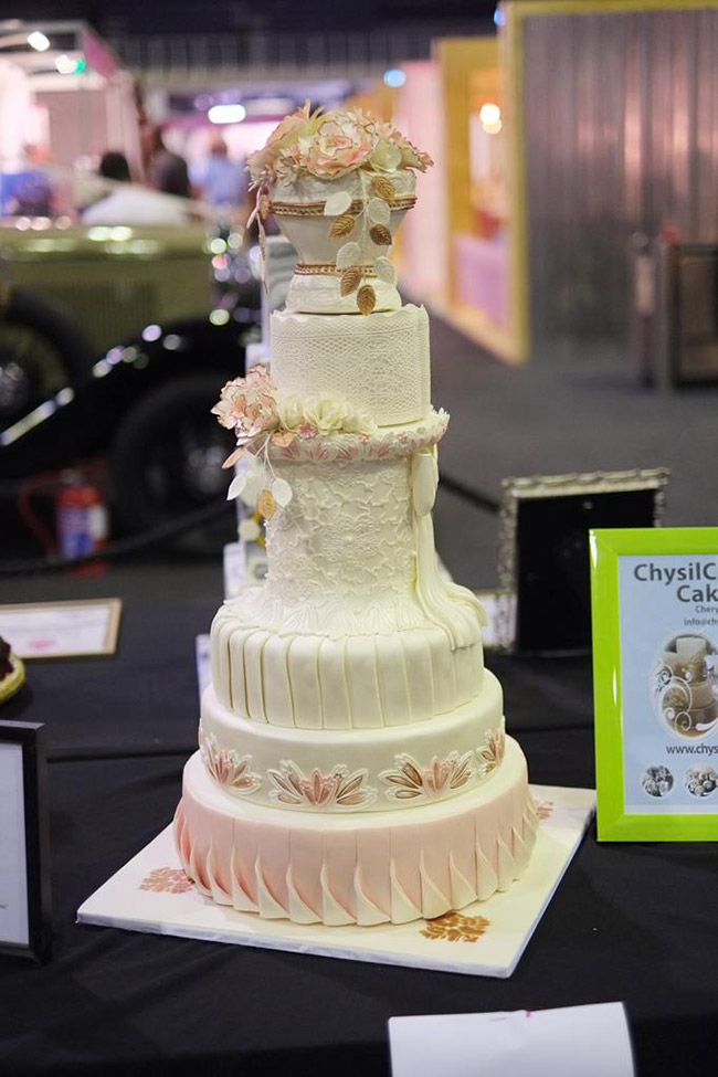 The Cake Challenge at the Johannesburg Wedding Expo March 2017