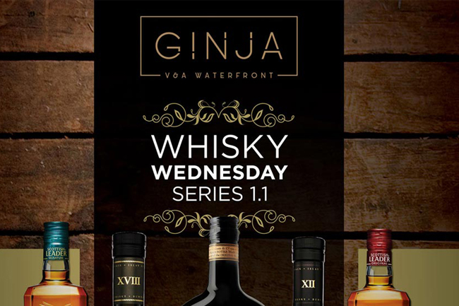 Whisky Wednesday at Ginja Restaurant