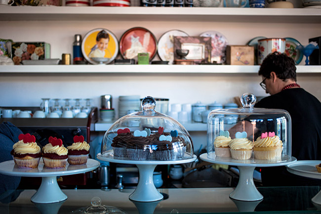 Treats galore at Queen of Tarts.