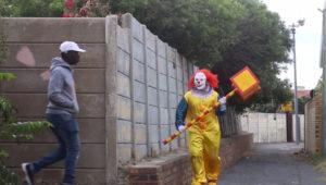 Cape Town clown