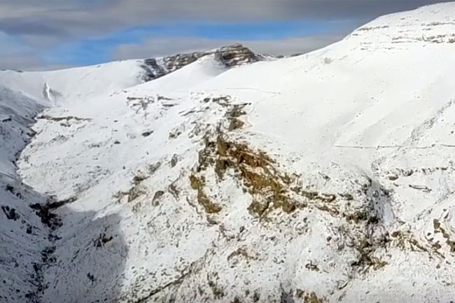 Exploring the Matroosberg snow with Adam Spires