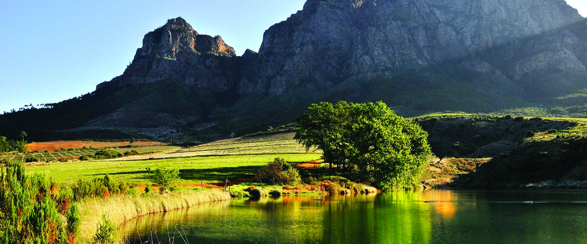 The Boschendal Farm natural environment.