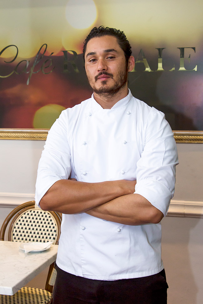 Chef Paolo February.