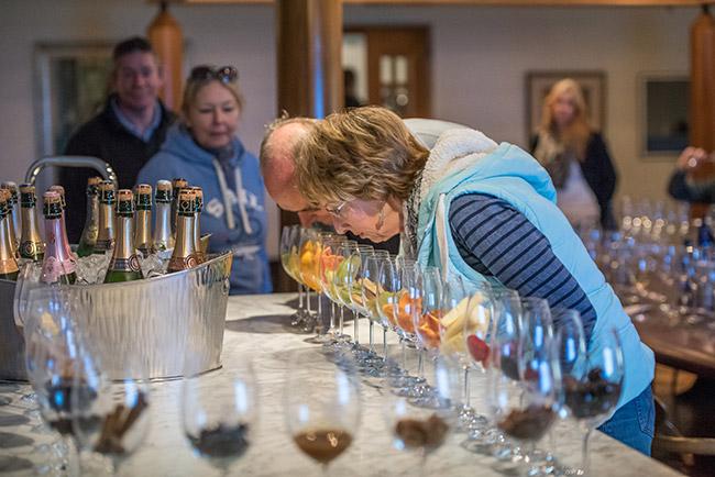 Tutored wine tasting at the Slow Food & Wine Festival