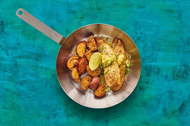 OB Tilapia Sweet Potato Pan