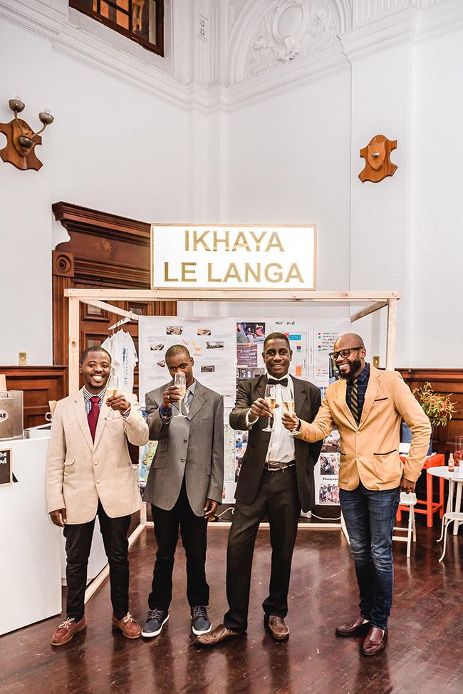 Ikhaya le Langa beneficiaries.