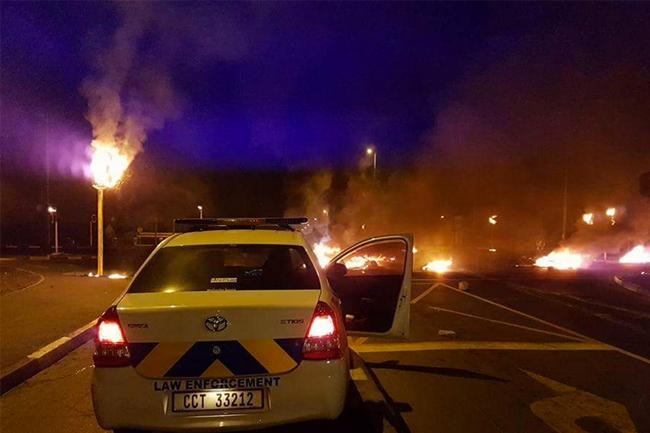 Strandfontein protests