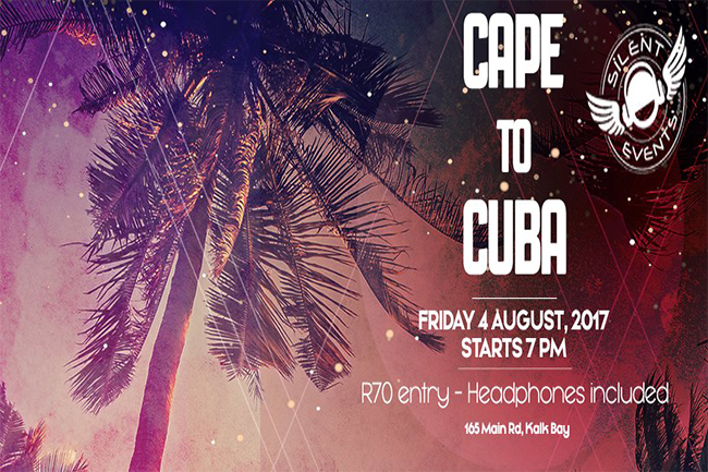 Silent Disco at Cape to Cuba