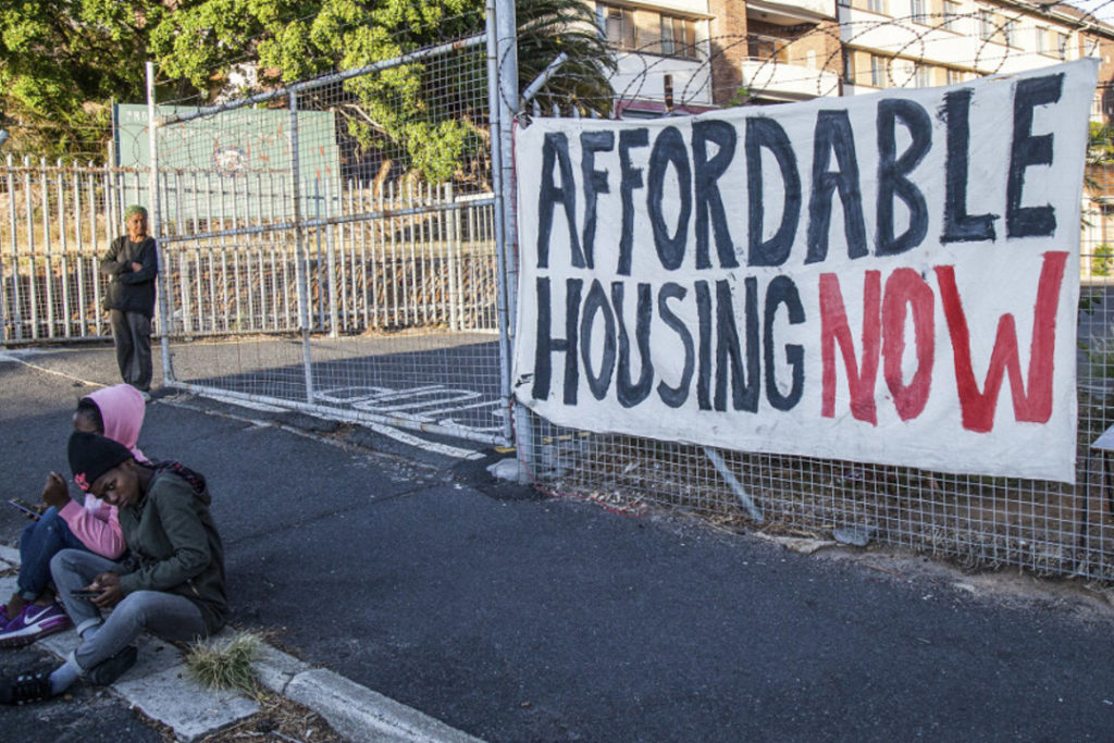 Affordable housing sites to be developed near central Cape Town