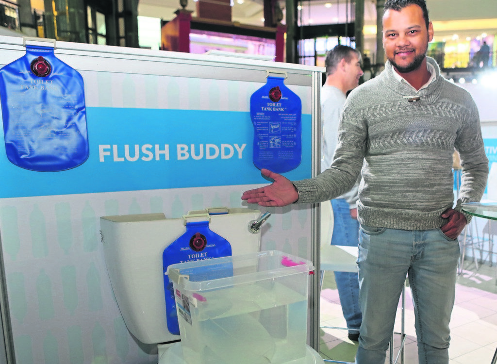 Flush Buddy to save city water