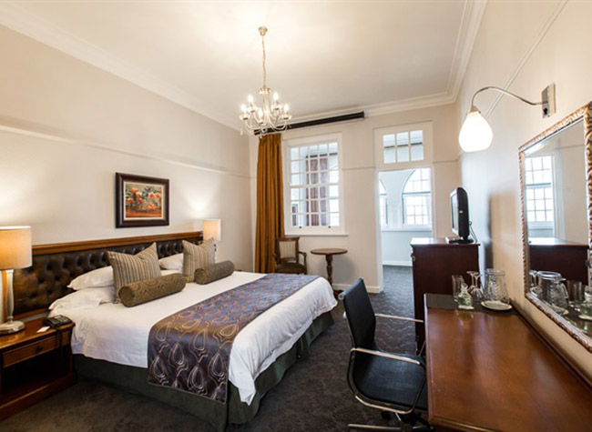 The Junior Suite at Winchester Mansions.