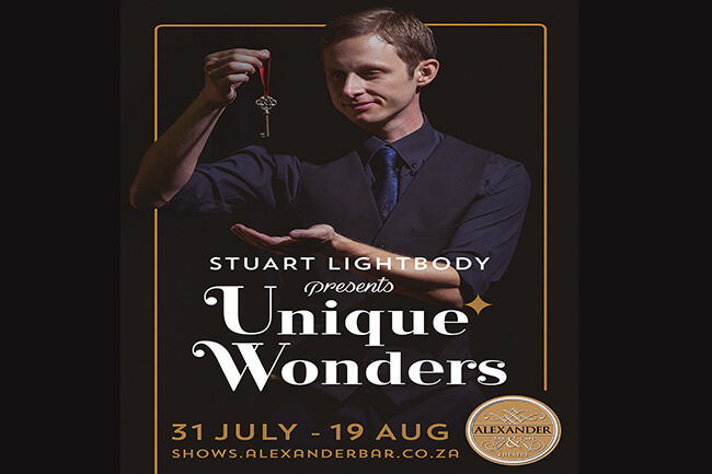 'Unique Wonders' with Stuart Lightbody