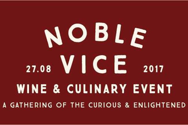 Noble Vice Wine & Culinary Event