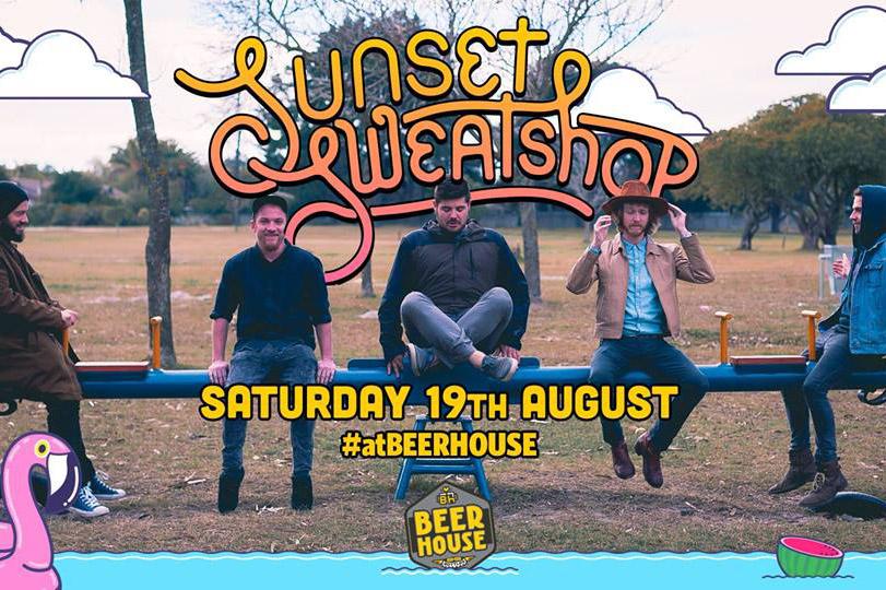 Sunset Sweatshop live at Beerhouse