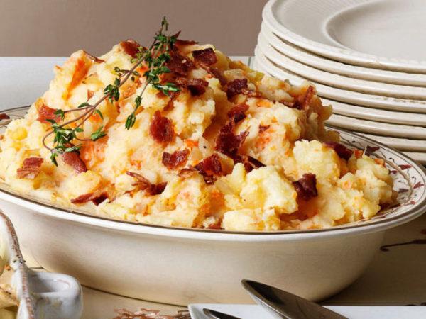 Mayweather McGregor - Bacon Mashed Potatoes