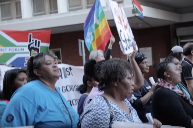 Cape Town protests