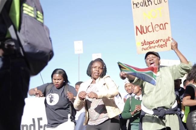 Protest Cape Town