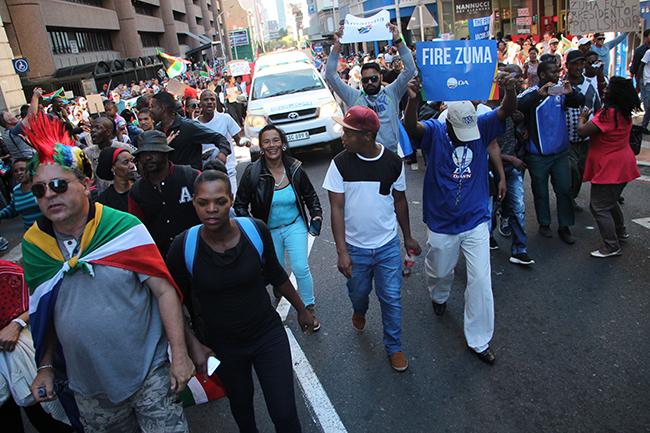 Road closures Cape Town