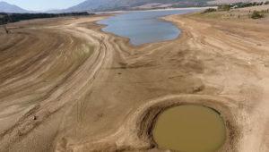 Theewaterskloof dam water