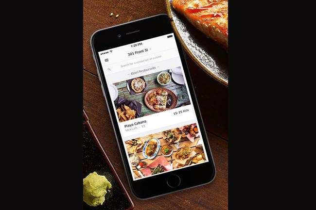 google play store - uber eats, capetownetc