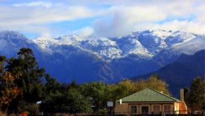 Western Cape snow