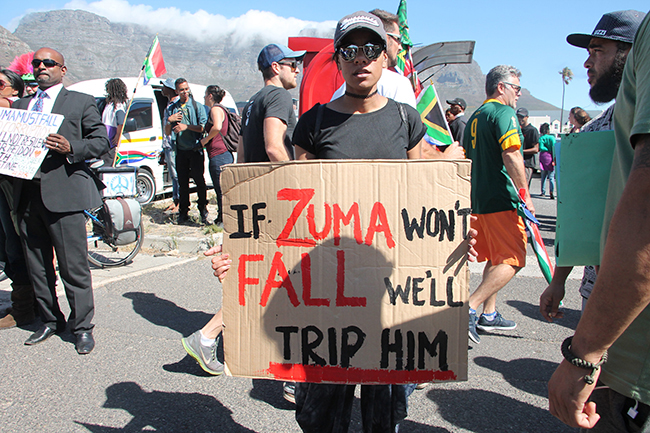Cape Town Zuma Must Fall