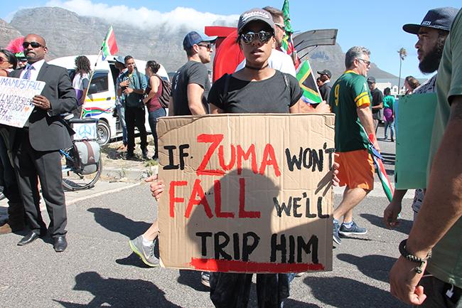 Cape Town Zuma Must Fall