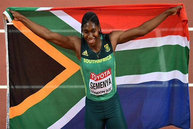 Caster Semenya cruises to gold in women's 800m