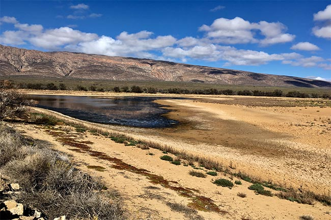 Dam Levels water