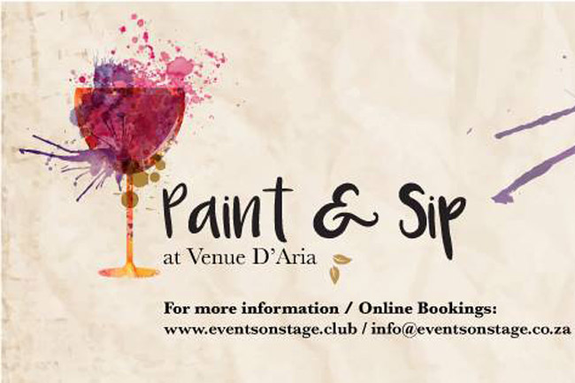 Paint & Sip at Venue D'Aria