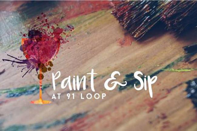 Paint & Sip at 91 Loop