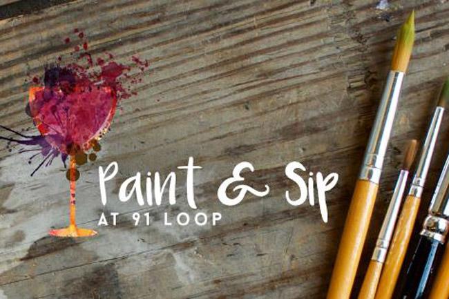Paint & Sip ft. Joanna Wolfe