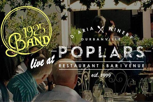 1925Band Live at Poplars Restaurant