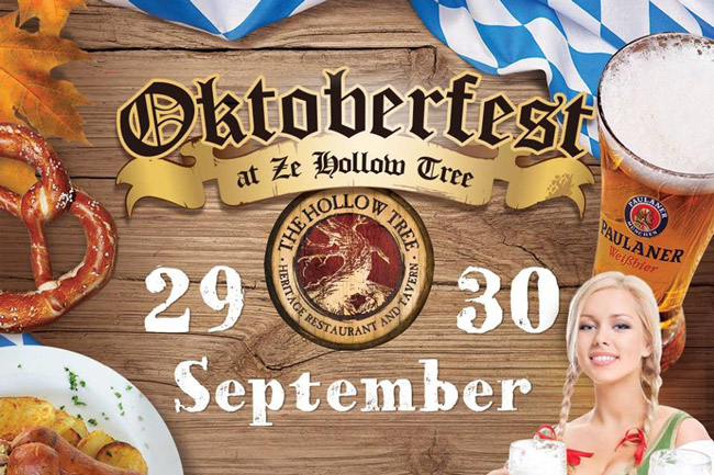 Oktoberfest at The Hollow Tree