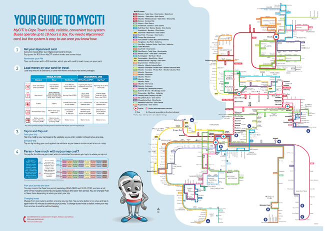 Threeday MyCiTi bus passes for Heritage Weekend CapeTown ETC