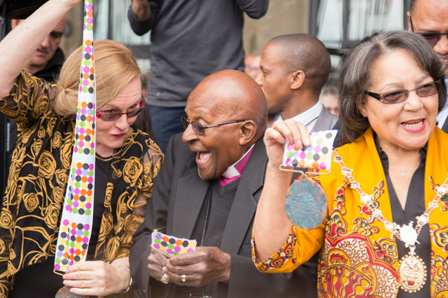 Cape Town to see 'Arch for Arch' tribute to Tutu