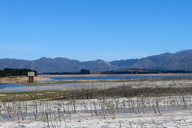 cape town dam levels theewaterskloof