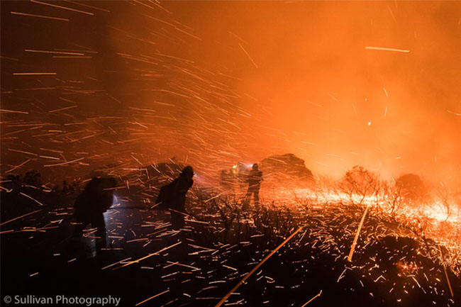 fire sullivan photography
