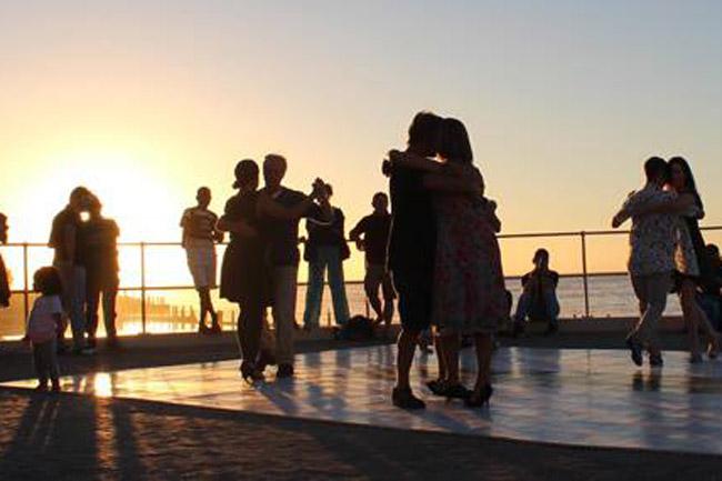 Sunset Tango at the Promenade