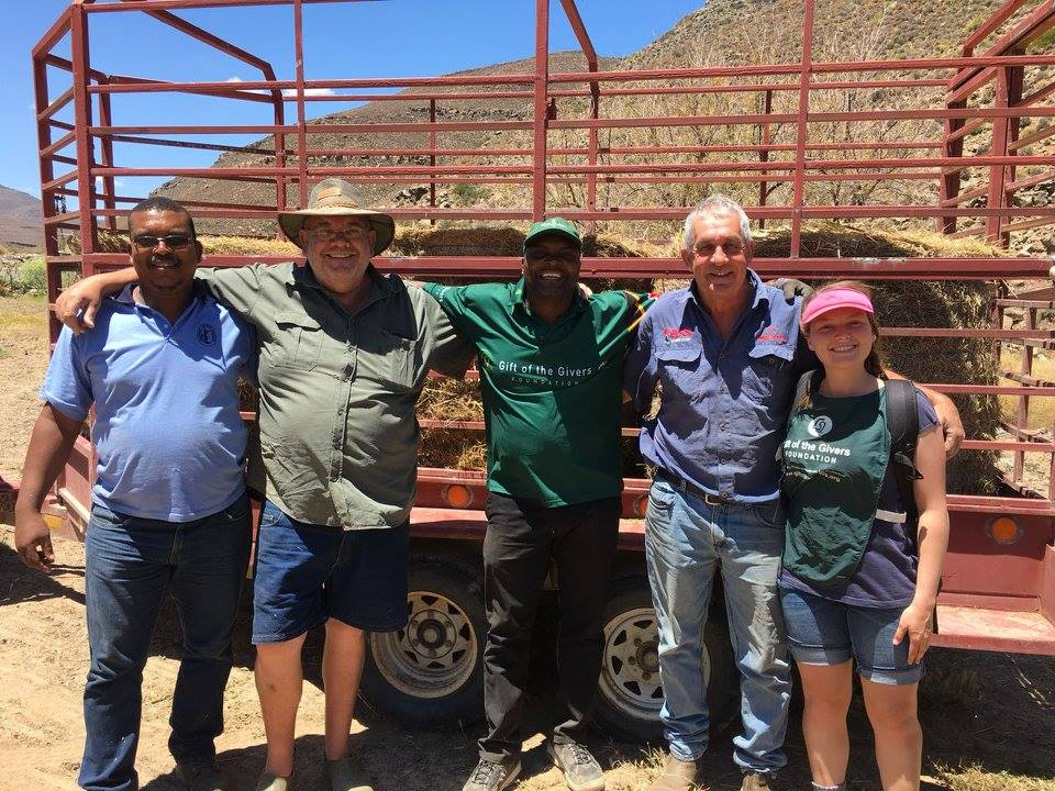 Gift of the Givers help drought-stricken Beaufort West