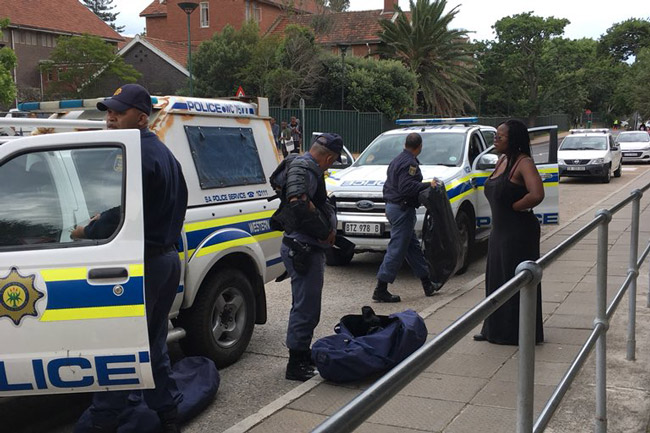 FEES MUST FALL: UCT protests erupt again this morning