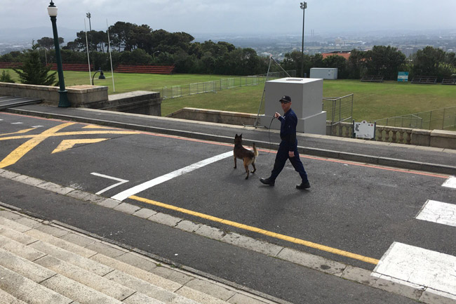 UCT campus on lockdown ahead of exams