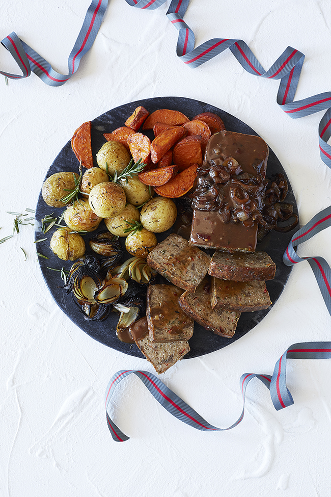 #MeatFreeMonday introduces: The first meatless roast