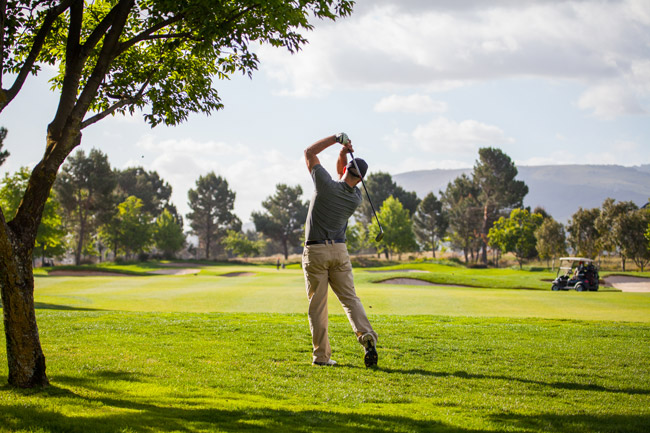 Birdies, bogeys and celebs golfing around