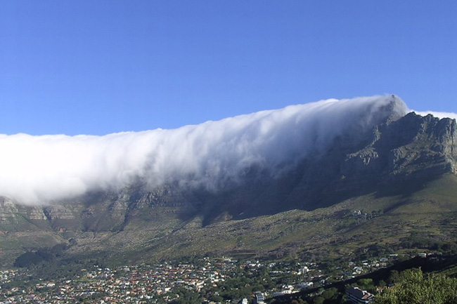 cape town wind table mountain